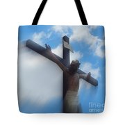 Iesus Nazarenvs Rex Ivdaeorvm Accession  At St. Joseph Church Garden In New Orleans Louisiana Tote Bag