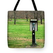 If A Phone Rings In The Forest Tote Bag