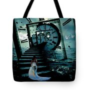 If I Could Go Back In Time Tote Bag