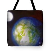 If Land Were Like Clouds In The Sky Tote Bag