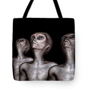 If One Was Three Tote Bag