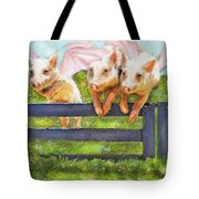 If Pigs Could Fly Tote Bag by Jane Schnetlage