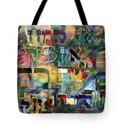 If There Is No Flour There Is No Torah 8 Tote Bag