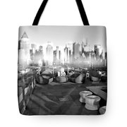 Check Please Tote Bag by Diana Angstadt