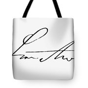 Ignaz Philipp Semmelweis Tote Bag
