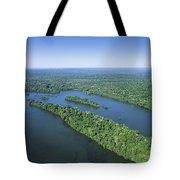 Iguacu River Above Iguacu Falls Brazil Tote Bag