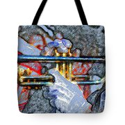 The Trumpet Player Tote Bag