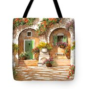 Il Cortile Tote Bag by Guido Borelli