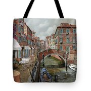 Il Fosso Ombroso Tote Bag by Guido Borelli