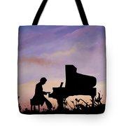 Il Pianista Tote Bag