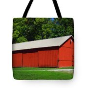Illinois Red Barn Tote Bag