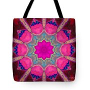 Illuminated Rose Tote Bag