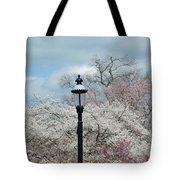 Illuminating Blossoms Tote Bag