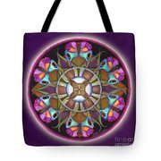 Illusion Of Self Mandala Tote Bag