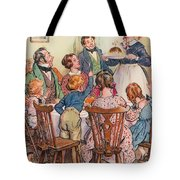 Illustration For A Christmas Carol Tote Bag