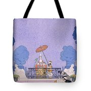 Illustration From A Book Of Fairy Tales Tote Bag