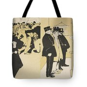 Illustration From Lassiette Au Beurre Tote Bag