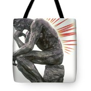 Illustration Of Back Pain Tote Bag