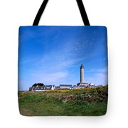 Ils De Batz Lighthouse Tote Bag