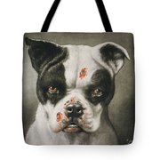 I'm A Bad Dog What Kind Of A Dog Are You Circa 1895 Tote Bag by Aged Pixel