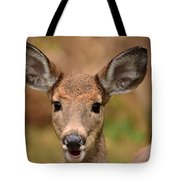 I'm Never Alone Tote Bag by Lori Tambakis