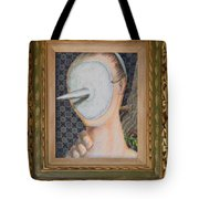 I'm Not A Therapist So I Can Talk About What I Can Talk About - Framed Tote Bag