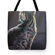 I'm Not Listening Tote Bag by Kimberly Santini