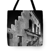 Im Still Standing Jerome Black And White Tote Bag