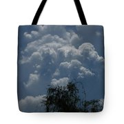 I'm Thinking Rain Tote Bag
