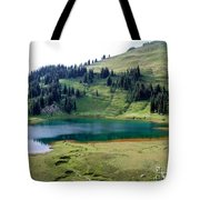 Image Lake  Tote Bag