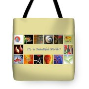Image Mosaic - Promotional Collage Tote Bag by Ben and Raisa Gertsberg