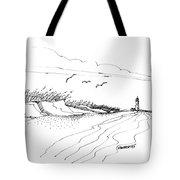 Imagination 1993 - Atlantic Coast Beach No 2 Tote Bag