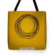 Imagination Tote Bag by Aged Pixel