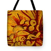 Imagination In Hot Vivid Yellows Tote Bag