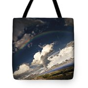 Imaginative Environment With Large Tote Bag