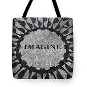 Imagine A World Of Peace Tote Bag