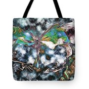 Imagine Number 2 Butterfly Art Tote Bag