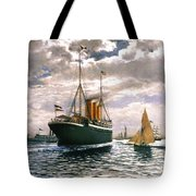 Immigrant Ship, 1893 Tote Bag