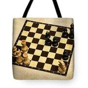Immortal Chess - Anand Vs Topalov 2005 Tote Bag