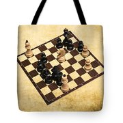 Immortal Chess - Byrne Vs Fischer 1956 Tote Bag