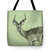 Impala Tote Bag by James W Johnson