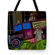 Imperial Laundry Truck Tote Bag