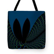 Impermanence On The Time Space Continuum Tote Bag by Peter R Nicholls