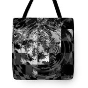 Impossible Reflections B/w Tote Bag
