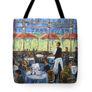 Impresionnist Cafe By Prankearts Tote Bag
