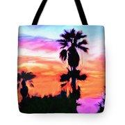 Impression Desert Sunset V2 Tote Bag