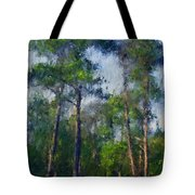 Impression Trees Tote Bag