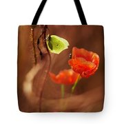 Impression With Red Poppies Tote Bag