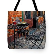 Impressionism The Looney Bean Cafe  Tote Bag