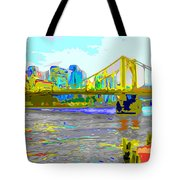 Impressionist Clemente Bridge 2 Tote Bag